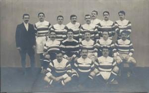 L'équipe du SNUC en 1912