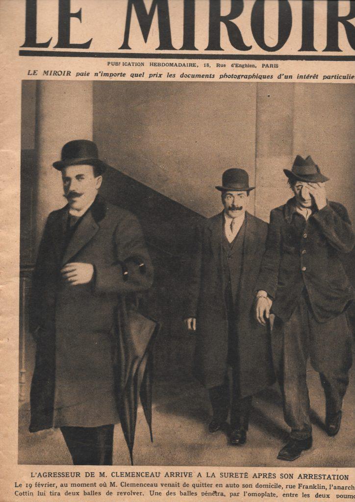 Attentat Clemenceau 1919-1