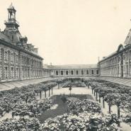 Cour d'honneur du lycée Clemenceau (1912)