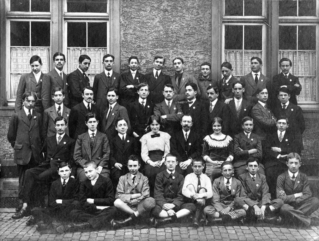 1913 Elèves Mayence (Decré)