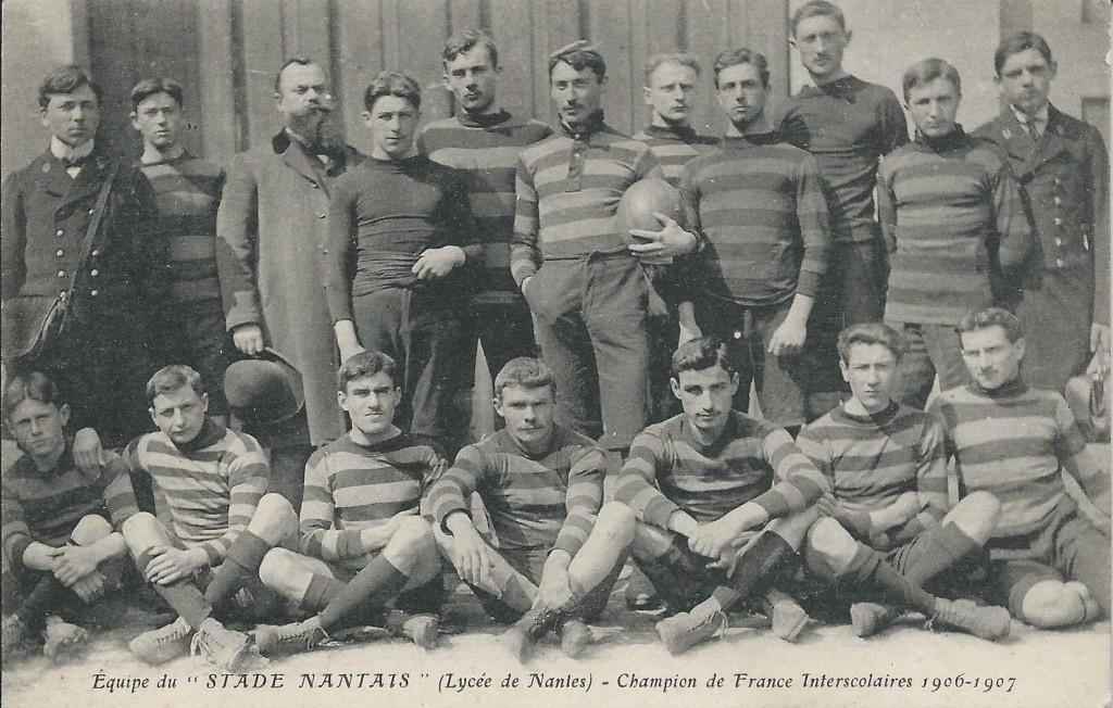 Avis de recherche Stade Nantais 1906-1907 Les Champions