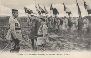 Illustre Heurtaux Alfred Heurtaux décoré par le général Anthoine
