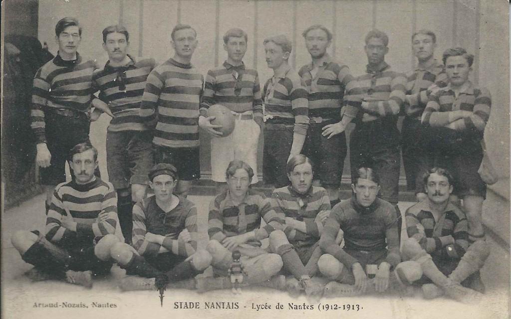 Nos Anciens au Stade Nantais Université Club (SNUC), équipe de rugby 1912-1913