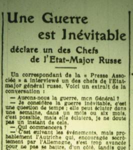 Le Phare de la Loire, 26 février 1913