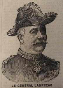 6 avril 1913 Loi de 3 ans Portrait de Lanrezac