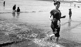 A la plage, été 1912