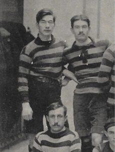 Charles Carcopino à gauche 1912-1913