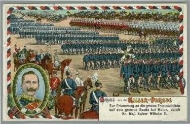 Kaiserparade 1913