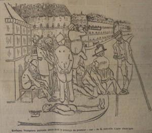Le Populaire, 12 octobre 1913