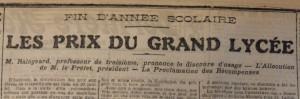 Le Populaire, 13 juillet 1913