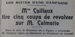 Le Populaire, 18 mars 1914