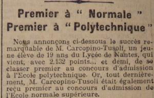 Le Populaire, 19 septembre 1913