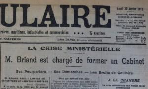 Le Populaire, 20 janvier 1913