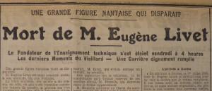 Le Populaire, 23 août 1913