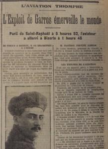 Le Populaire, 25 septembre 1913