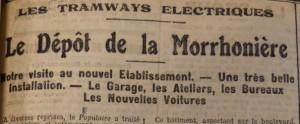 Le Populaire, 27 septembre 1913