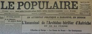 Le Populaire, 30 juin 1914