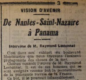 Le Populaire, 4 août 1913