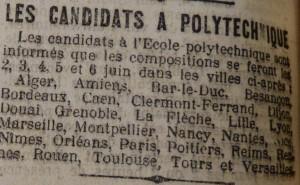 Le Populaire, 5 mai 1913