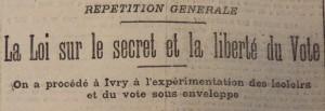 Le Populaire, 5 octobre 1913