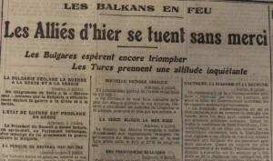 Le Populaire, 7 juillet 1913