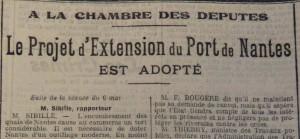 Le Populaire, 8 mai 1913