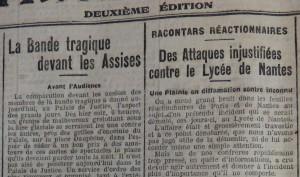 Le Populaire, 4 février 1913
