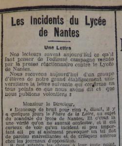 Le Populaire, 7 février 1913