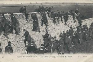 Ecole de Saint-Cyr - Assaut du mur