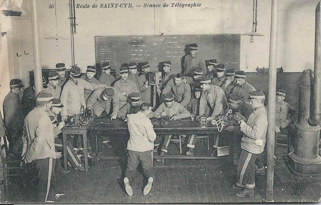 Ecole de Saint-Cyr - Télégraphie