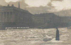 La Loire gelée en 1914