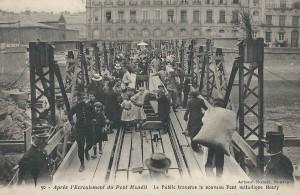 Le Pont Maudit - Le Pont Henry construit