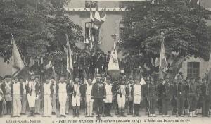 Nantes 65ème en fête 14 juillet 1914