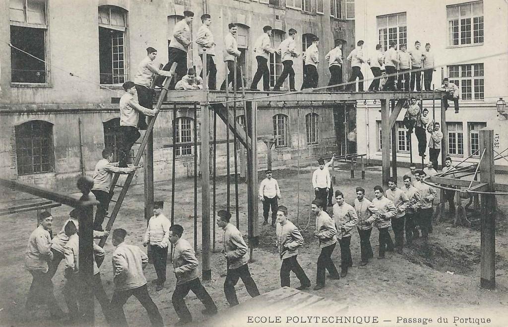 Polytechnique - Le portique