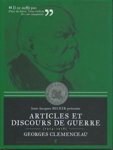 Clemenceau Articles et discours