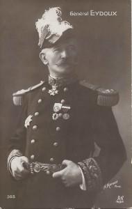 Joseph-Paul Eydoux (1852-1918), général de division, est devenu le commandant du 11ème Corps d'Armée en avril 1914