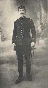 Le sous-lieutenant Albert Poumailloux en 1915