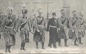 """""""Monstre"""" : Guillaume II, empereur des """"Barbares"""" et sa """"progéniture""""."""