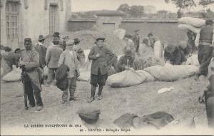 Des Belges réfugiés à Nantes