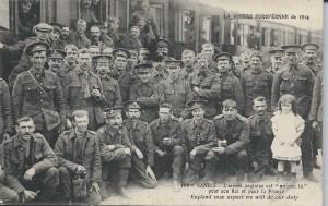 1914 Anglais à Nantes