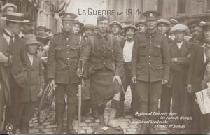 1914 Anglais et Ecossais à Nantes