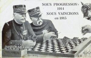 Carte postale de propagande