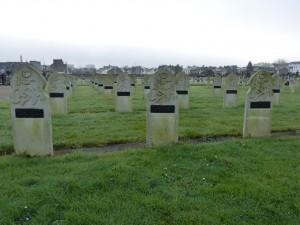 Tombes de soldats musulmans à Nantes, au cimetière de la Bouteillerie