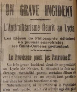 L'Espérance du Peuple, 2 février 1913