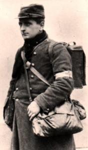 Paul Ladmirault, soldat au 81e Territorial, avec l'aimable autorisation de son petit-fils Paolig
