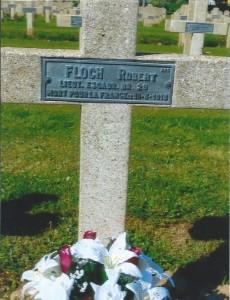 Robert Floch Sa tombe 2