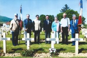 L'hommage rendu à Robert Floch à Cernay, le 5 mai 2014.