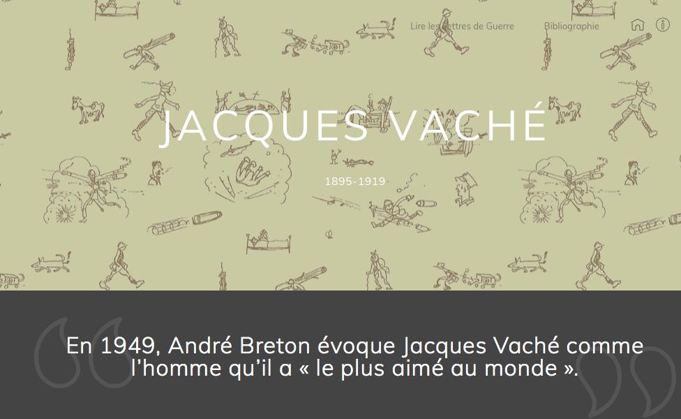 Site Jacques Vaché
