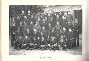 Lycée de Nantes 1908-1909 - GL 3ème B